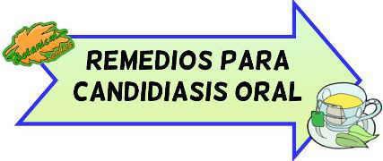 remedios candidiasis oral