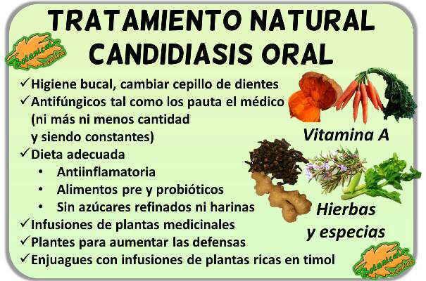 remedios naturales tratamiento con plantas medicinales candidiasis oral