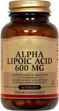 Alpha lipoic acid supplement.