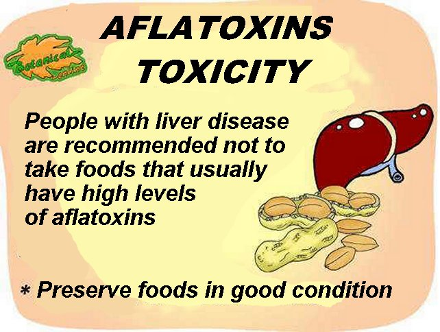 Aflatoxins toxicity preventions