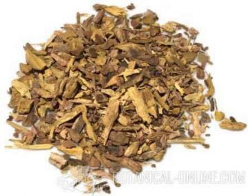 dried barberry root.