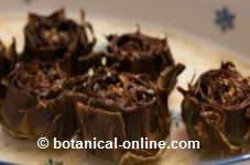 albaked artichokes