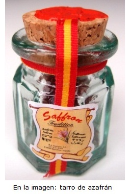 Saffron jar