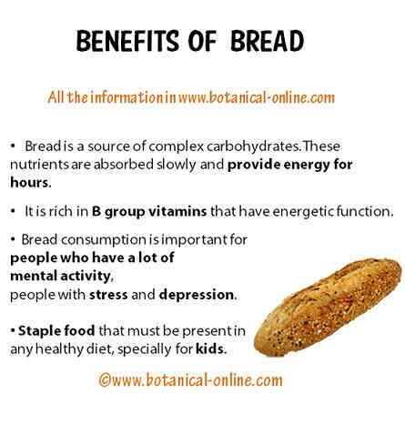 Benefits of bread