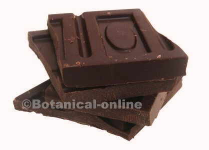 Photo of dark chocolate, rich in oxalates