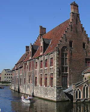 boat ride Bruges