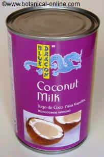 coconut milk tin