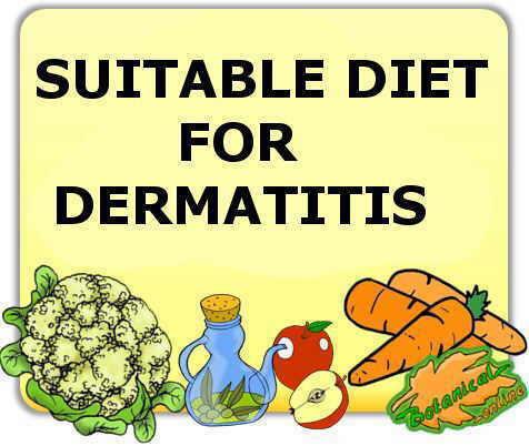 diet for dermatitis