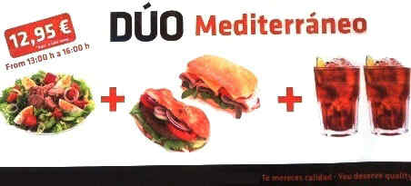 Mediterranean diet nowadays
