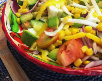 Photo of corn salad