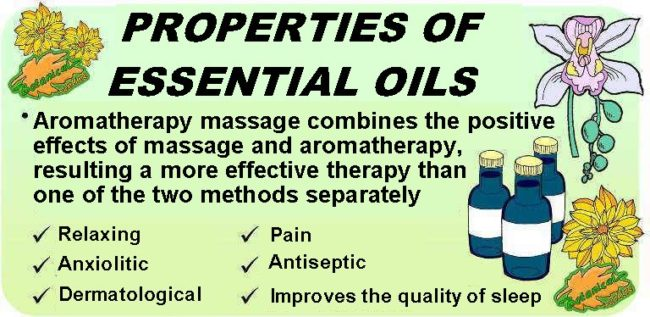 Main medicinal properties and benefits of essential oils