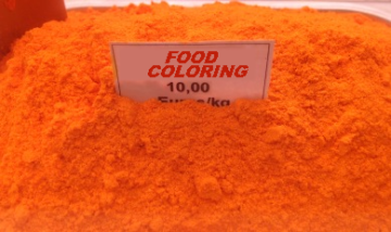 tartrazine, food coloring