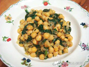 chickpea spinach