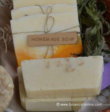 Herbal homemade soap