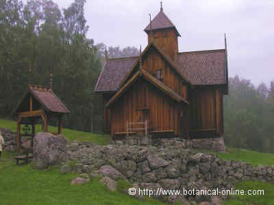 Uvdal wooden Church