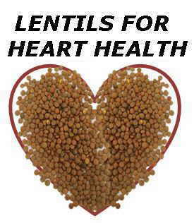 Lentils for heart health