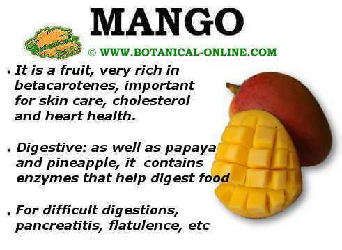mango properties