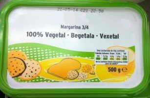 vegetal margarine