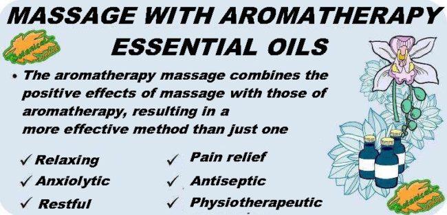 aromatherapy massage essential oils properties