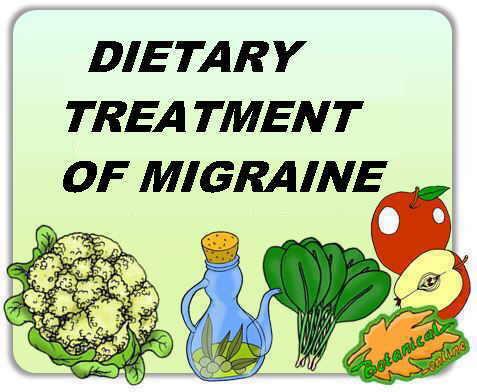 dietary treatment of migraine