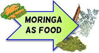 Moringa oil in food