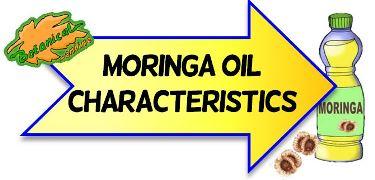 propiedades alimentarias del aceite de moringa