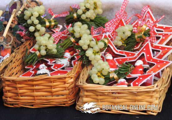 Photo of mistletoe at a Christmas market