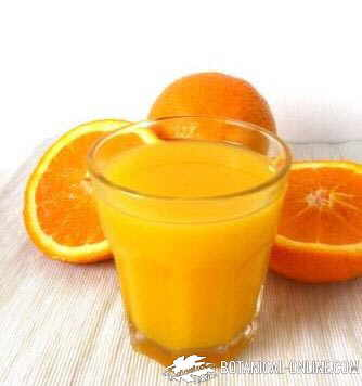 Orange and orange juice