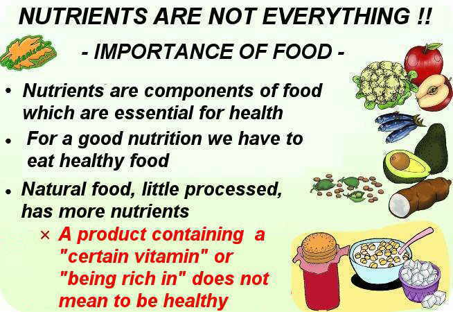 properties of nutrients