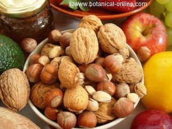 Dry fruits in the Mediterranean diet