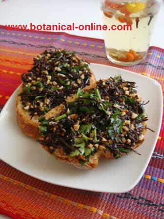 Arame seaweed pate