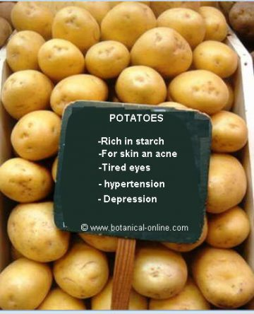 potatoes properties