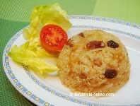 Quinoa with raisins