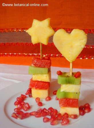 Photo of fruit skewer