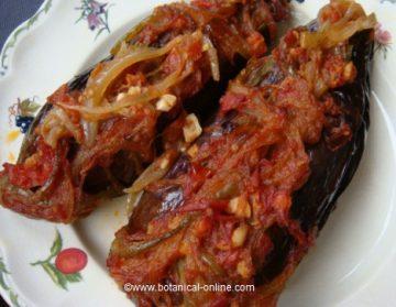Stuffed eggplants recipe