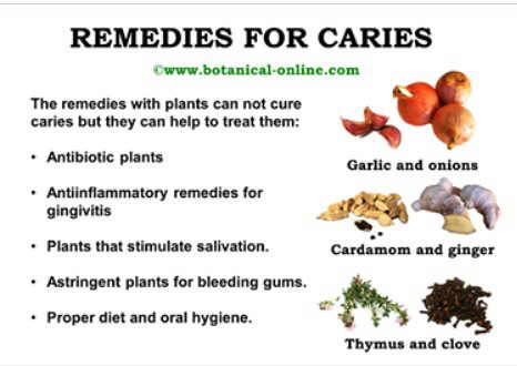 remedies for caries