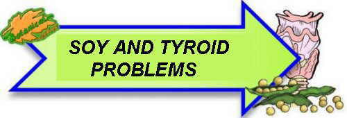 Soy and thyroid problems