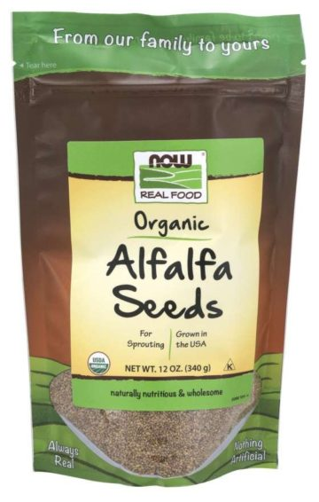 sprouted alfalfa