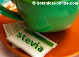 Photo of stevia sweetener