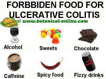 alimentos prohibidos dieta colitis ulcerosa
