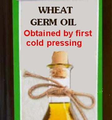 wheat germ oil first cold pressure tocopherols color