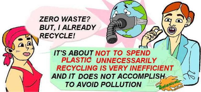 Zero waste characteristics