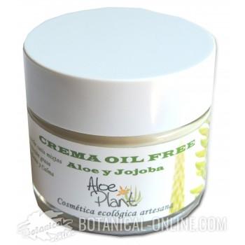 Crema hidratante Oil Free Aloe Plant