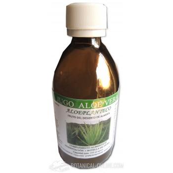 Jugo de Aloe vera ecológico 125ml Aloe Plant