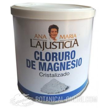 Cloruro de magnesio Ana Maria Lajusticia