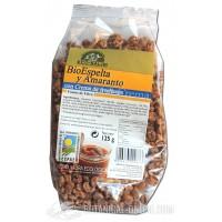 Cereales Bio Espelta y amaranto con crema de avellanas 125gr Eco-Salim