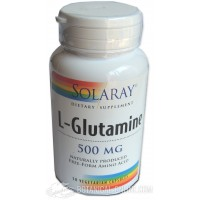Glutamina 500mg 50 cápsulas Solaray