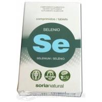 Selenio en comprimidos Soria Natural
