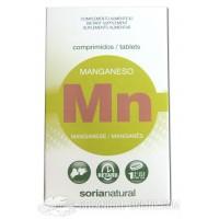Manganeso en comprimidos Soria Natural