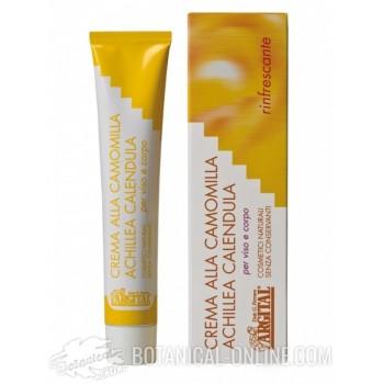 Crema hidratante natural manzanilla y caléndula
